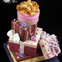 Gift Boxes Cake